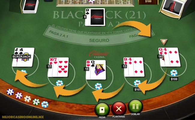 Ronda de apuestas en el blackjack