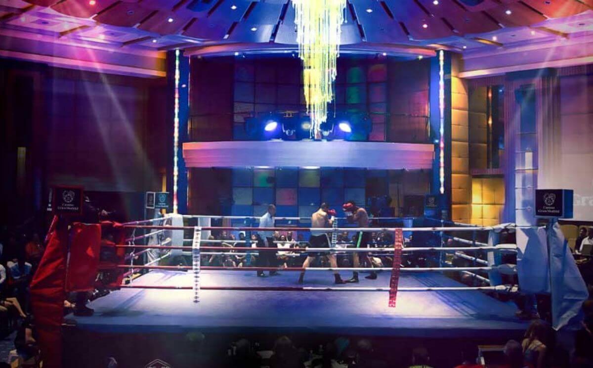 Boxeo en el casino